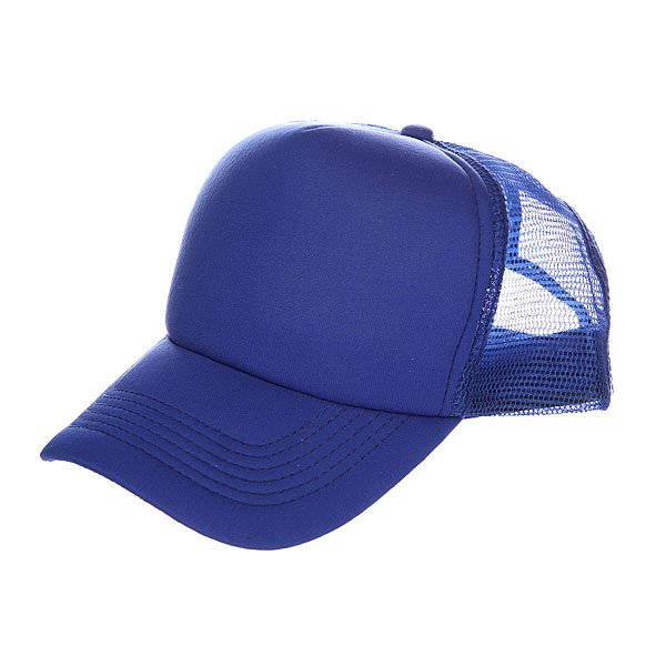 Бейсболка с сеткой TrueSpin Basic Trucker Royal Blue