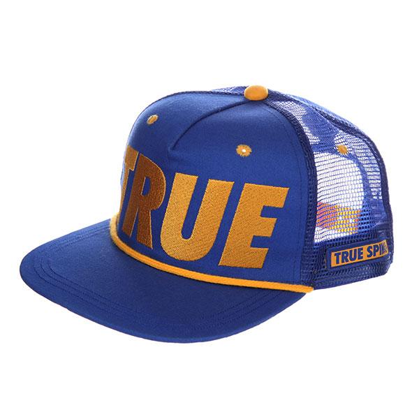 Бейсболка с сеткой TrueSpin True Trucker Navy<br><br>Цвет: синий<br>Тип: Бейсболка с сеткой<br>Возраст: Взрослый