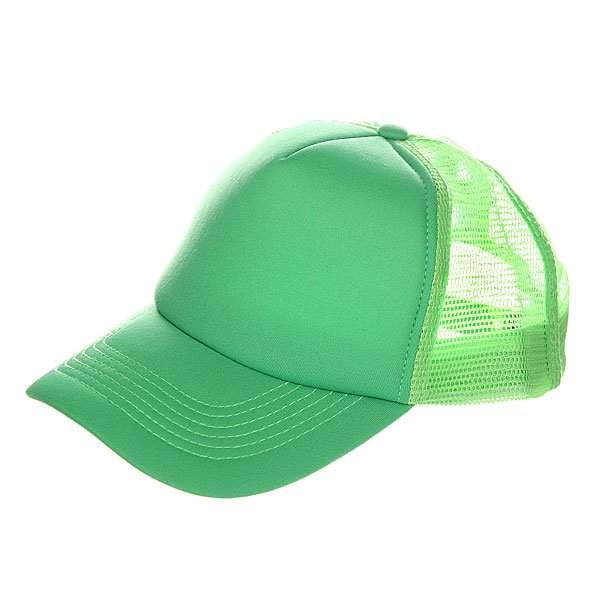 Бейсболка с сеткой TrueSpin Basic Trucker Fresh Green