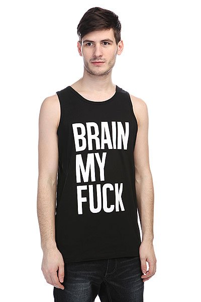 Майка TrueSpin Brain My Fuck Black