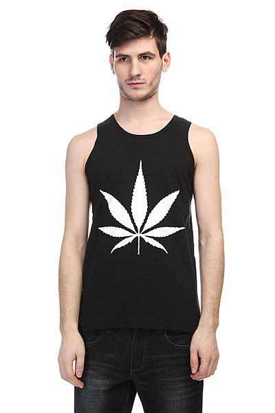 Майка TrueSpin Cannabis Black<br><br>Цвет: черный<br>Тип: Майка<br>Возраст: Взрослый<br>Пол: Мужской