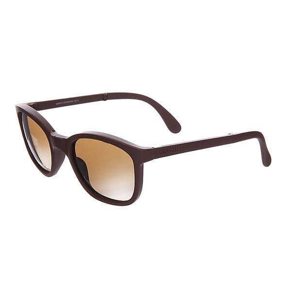 Очки Sunpocket Tonga Matte OakКлассическая модель с более смелым взглядом.Технические характеристики: 100% защита от ультрафиолетовых лучей.Ударопрочные линзы из поликарбоната.Оправа из легкого материала Grilamid.Складная оправа.<br><br>Цвет: коричневый<br>Тип: Очки<br>Возраст: Взрослый<br>Пол: Мужской