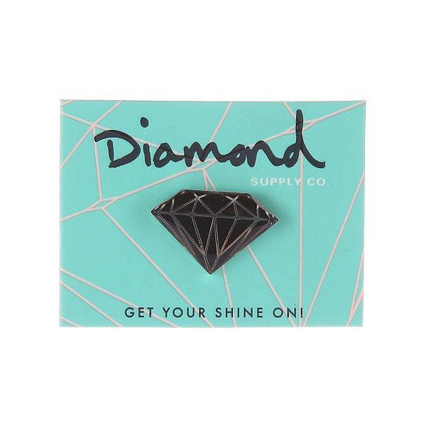 Значок Diamond Bksi Metal Brilliant Pins Black/Silver