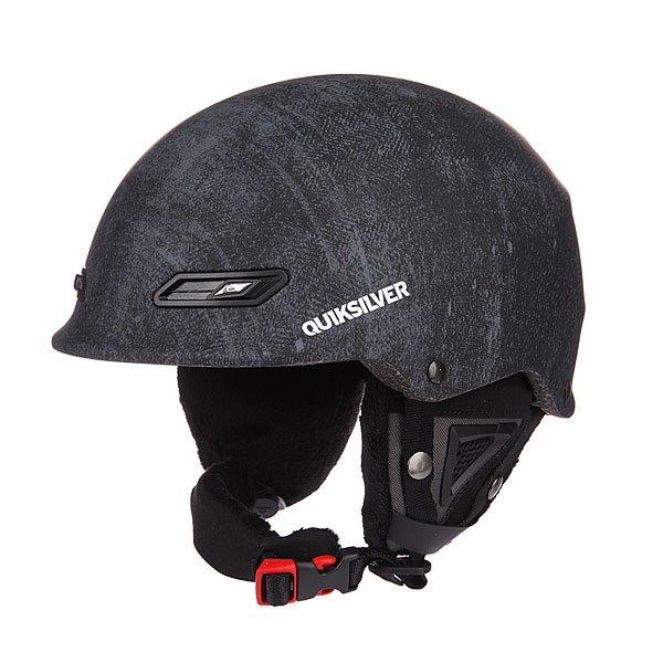 Шлем для сноуборда Quiksilver Wildcat Asphalt<br><br>Цвет: черный,серый<br>Тип: Шлем для сноуборда<br>Возраст: Взрослый<br>Пол: Мужской