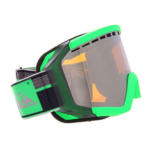 Маска для сноуборда Quiksilver Q1 Gecko Green