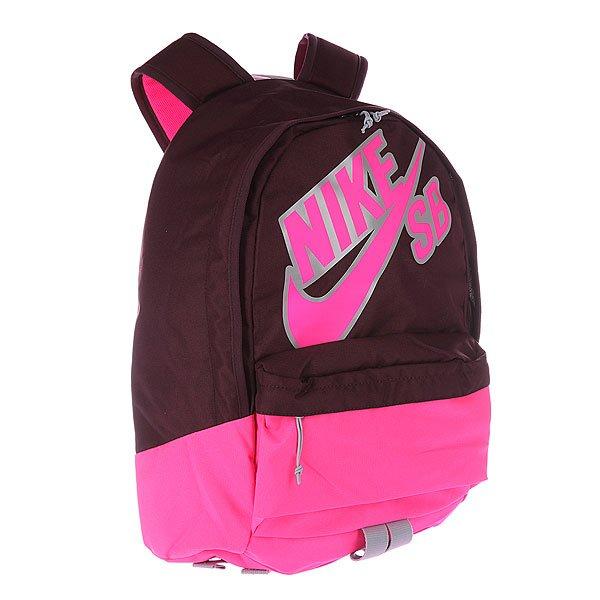 Рюкзак городской Nike Sb-Piedmont 609 Merlot/Wolf Grey/Pink