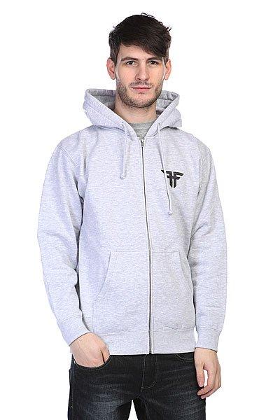 Толстовка Fallen Deathproof Hood Heat Grey<br><br>Цвет: серый<br>Тип: Толстовка классическая<br>Возраст: Взрослый<br>Пол: Мужской