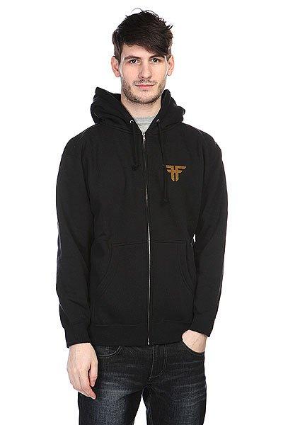 Толстовка Fallen Deathproof Hood Black<br><br>Цвет: черный<br>Тип: Толстовка классическая<br>Возраст: Взрослый<br>Пол: Мужской