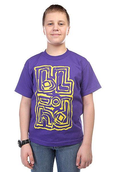 Футболка детский Blind Jumbled Purple<br><br>Цвет: фиолетовый<br>Тип: Футболка<br>Возраст: Детский