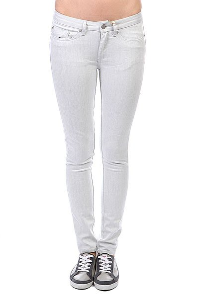 Джинсы узкие женские Insight Z Beanpole Skinny White Heat джинсы узкие insight city riot slim white heat acid