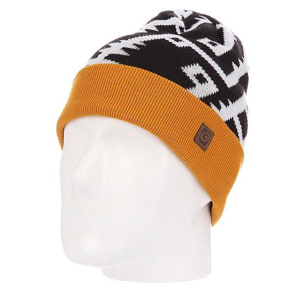Шапка женская Rip Curl Tribe Beanie Sunflower<br><br>Цвет: оранжевый,черный,белый<br>Тип: Шапка<br>Возраст: Взрослый<br>Пол: Женский
