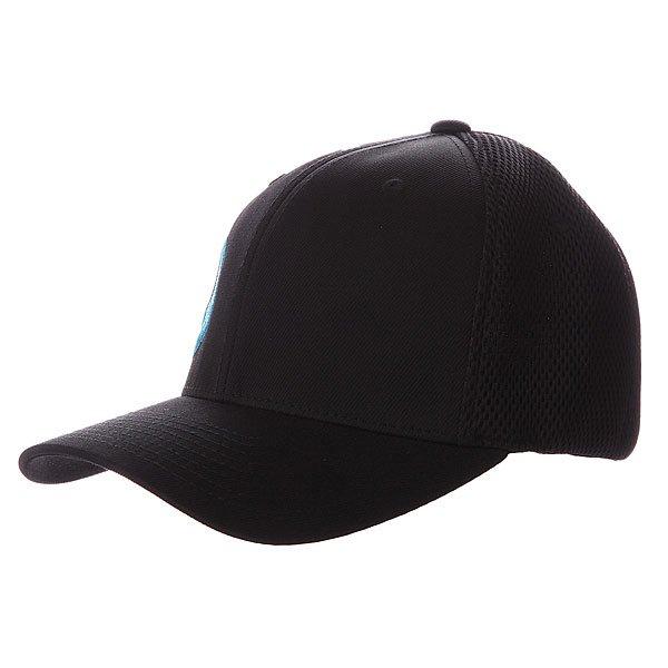 Бейсболка  Logo Flex Fit Cap Black/Blue Orangatang. Цвет: черный