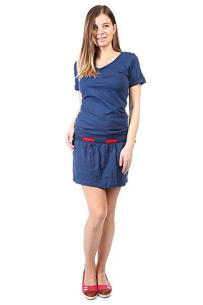 Платье женское Picture Organic Paradise Marine<br><br>Цвет: синий<br>Тип: Платье<br>Возраст: Взрослый<br>Пол: Женский