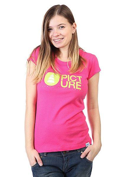 Футболка женская Picture Organic Basement Pinky<br><br>Цвет: розовый<br>Тип: Футболка<br>Возраст: Взрослый<br>Пол: Женский