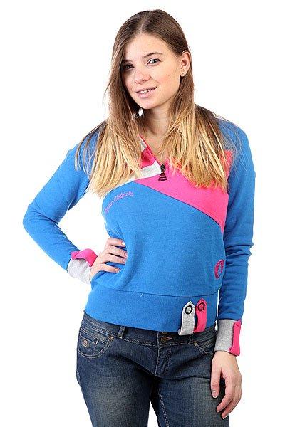 Женская толстовка Picture Organic Lewis Blue<br><br>Цвет: голубой<br>Тип: Толстовка классическая<br>Возраст: Взрослый<br>Пол: Женский