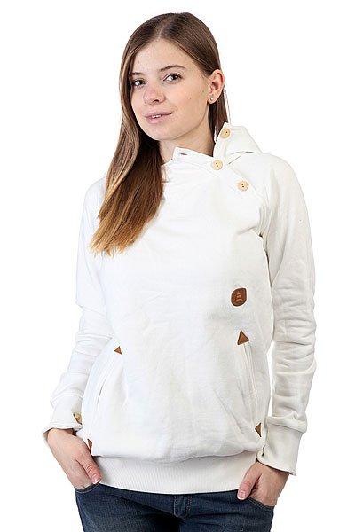 Кенгуру женское Picture Organic Amoon White<br><br>Цвет: белый<br>Тип: Толстовка кенгуру<br>Возраст: Взрослый<br>Пол: Женский