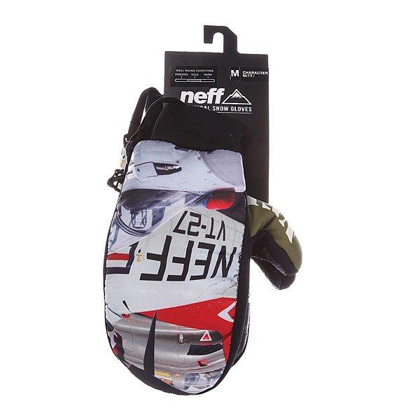 Варежки сноубордические Neff Character Warp