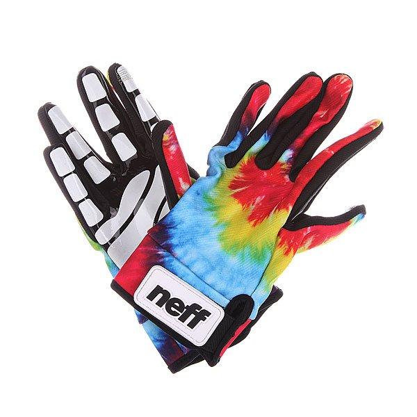 Перчатки сноубордические Neff Chameleon Tie/Dye перчатки сноубордические neff roverul