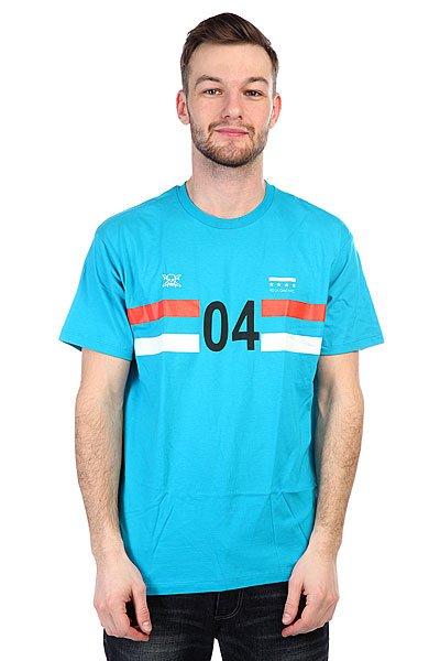 Футболка Fourstar Sport 04 Premium Turq Blue