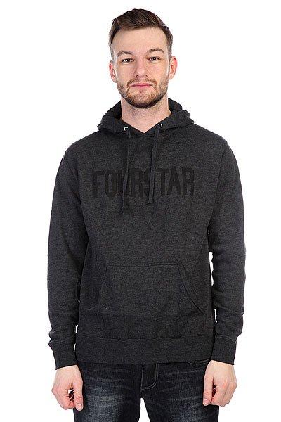 Толстовка Fourstar League Charcoal/Heather
