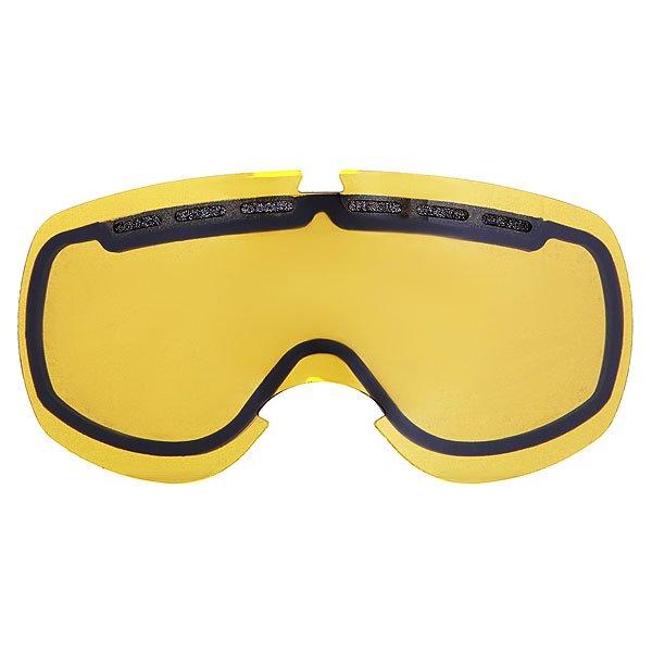 Линза для маски Electric EG5 Snow Yellow ChromeЛинза, дающая превосходный вертикальный и горизонтальный обзор. Прочное покрытие поможет избежать царапин, а также Вы навсегда можете забыть о запотевшей маске благодаря обновленной системе вентиляции и специальному покрытию внутренней линзы.Технические характеристики: Технология INNER LENS / PRESSURE VALVE - направленный клапан для сброса давления на различных высотах, обеспечивающий надлежащее визуальное исполнение.HARD COATING - защитный барьер против царапин.100% защита от ультрафиолета (UV).ANTI FOG - покрытие, препятствующее запотеванию линзы.Система вентиляции для уменьшения образования конденсата на поверхности.Оптическая точность и производительность линз соответствует международному стандарту ANSI Z80.3.<br><br>Цвет: желтый<br>Тип: Линза для маски<br>Возраст: Взрослый<br>Пол: Мужской