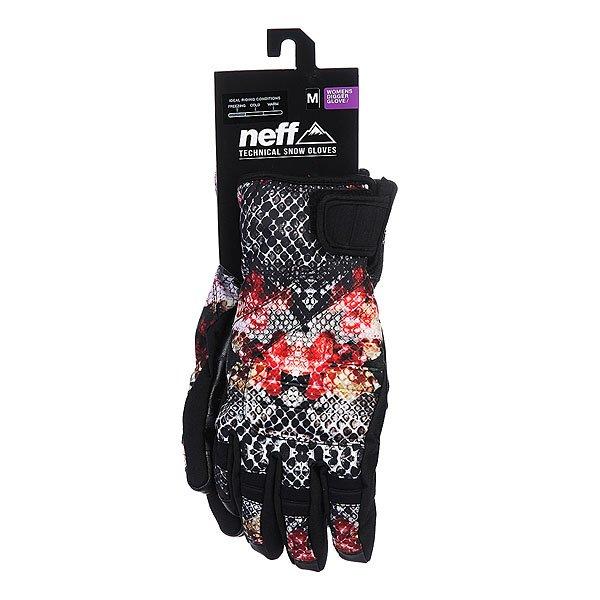 Перчатки сноубордические женские Neff Digger Snake/Life