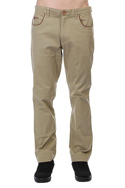 Штаны прямые Picture Organic Chino Khaki<br><br>Цвет: бежевый<br>Тип: Штаны прямые<br>Возраст: Взрослый<br>Пол: Мужской