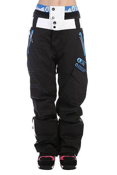 Штаны сноубордические женские Picture Organic Pant Smack Black