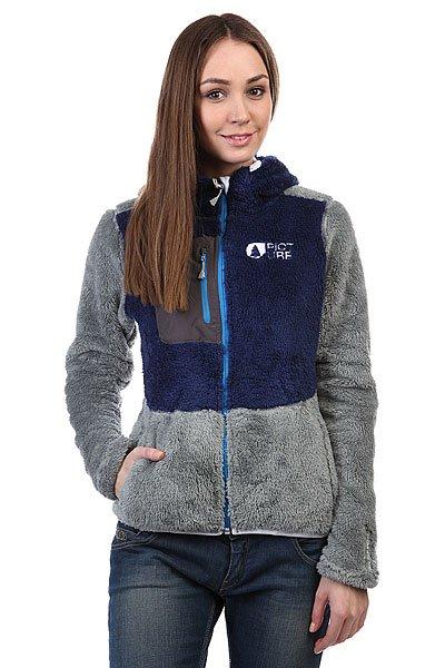 Толстовка женская Picture Organic Penny Grey куртка женская picture organic bioceramic profile 2 jacket grey