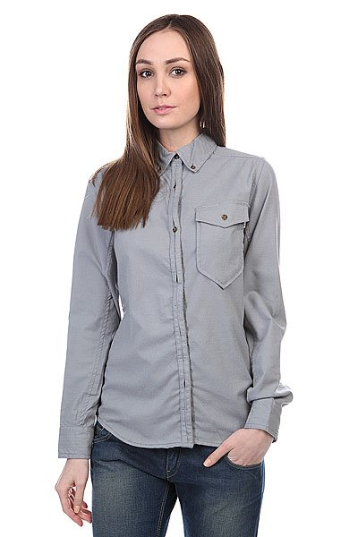 Рубашка женская Burton Wb Cora Flannel Heather Grey