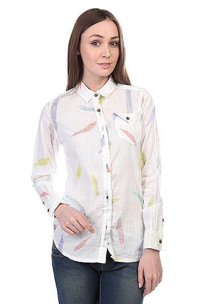 Рубашка женская Burton Wb Bristol Wvn Shrt Vanilla Feather<br><br>Цвет: белый<br>Тип: Рубашка<br>Возраст: Взрослый<br>Пол: Женский