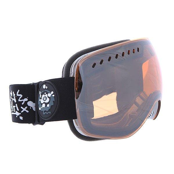 Маска для сноуборда Dragon Apxs Gigisignature/Ionized + Yellow OneТехнические характеристики:  Цилиндрическая  форма линз.  Infinity Lens Technology  обеспечивает максимальный обзор. Технология антибликового защитного покрытия линз (на 100% защищает от ультрафиолетового излучения (блокирует вредное UVA, UVB, UVC излучение, а также ультрафиолетовое излучение до 400 NM).  Технология антизапотевания линзы Super Anti-Fog.  Оптически корректные линзы. Гибкая оправа из полиуретана.  Внутреннее покрытие из защитной двойной формирующей пены для лучшего прилегания маски к лицу и потоотведения.  В месте соприкосновения с лицом дополнительный слой нежного поглощающего влагу флиса Polartec. Линзы с устойчивым к царапинам покрытием. Регулируемый ремешок с накладкой против скольжения.  Совместимость со всеми видами шлемов.  Оптимизирована для средней и большой формы лица.  Светопередача –33-35 % (Лучше всего подходит для яркого солнца, добавляет четкости и защищает от яркого света).Дополнительная сменная линза в комплекте (Светопередача – 48-57%, подходит для меняющихся условий освещения от слабого освещения до облачной погоды, добавляет четкости и защищает от яркого света.)<br><br>Цвет: оранжевый<br>Тип: Маска для сноуборда<br>Возраст: Взрослый<br>Пол: Мужской