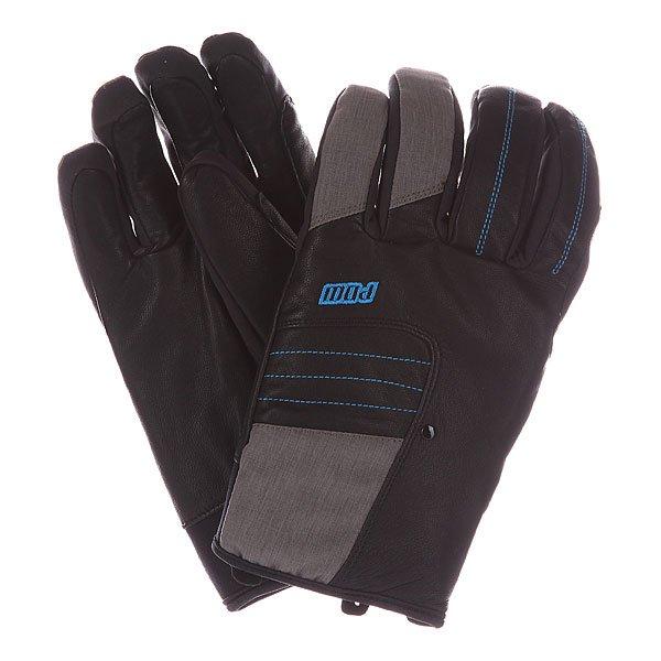Перчатки сноубордические Pow Villain Glove Black перчатки сноубордические dakine scout glove rasta