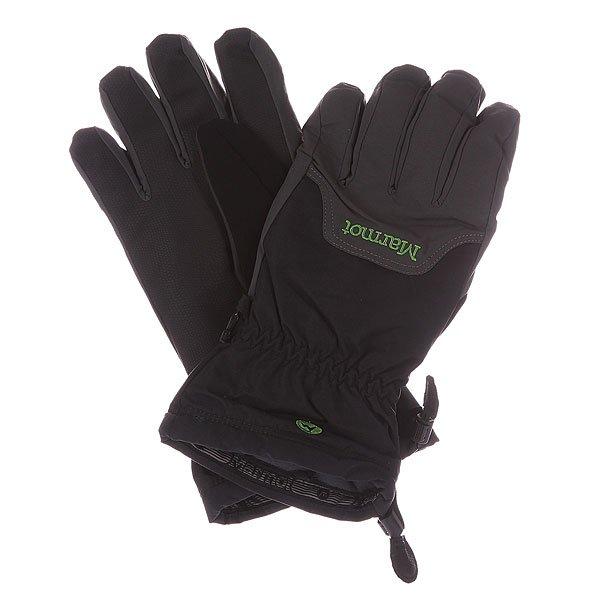 Перчатки сноубордические Marmot On Piste Glove Slate Grey/BlackХарактеристики: Вставка из Marmot MemBrain® - водонепроницаемого дышащего и ветрозащитного материала.  Для широкого диапазона использования. Утеплитель Thermal R. Влагоотводящая подкладка DriClime® Bi-Component  10,000 гр/10,000 мм – высокая воздухопроницаемость и эффективное влагоотведение. Эластичные лайкровые манжеты.Усиление на ладони Grip Tech Polyurethane.  «Соколиная хватка» - анатомический крой пальцев. Вставка из мягкого материалана большом пальце для протирки маски. Эластичные манжеты на резинке. Страховочная петля – перчатка держится у запястья, даже когда Вы ее снимаете.<br><br>Цвет: серый,черный<br>Тип: Перчатки сноубордические<br>Возраст: Взрослый<br>Пол: Мужской