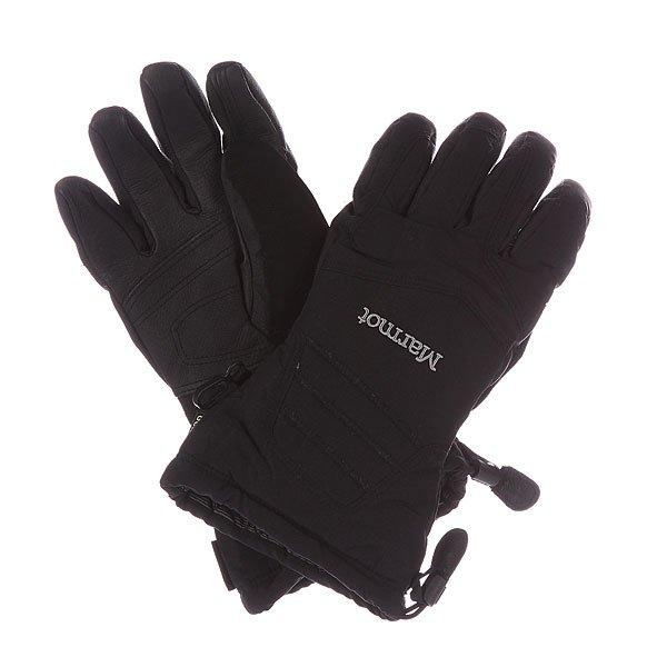 Перчатки сноубордические Marmot Chute Glove BlackХарактеристики: Вставка Gore-Tex® - водонепроницаемого дышащего и ветрозащитного материала.  Для широкого диапазона использования. Утеплитель Thermal R. Влагоотводящая подкладка DriClime® Bi-Component – высокая воздухопроницаемость и эффективное влагоотведение.  Усиление на ладони Washable Pigskin Leather 0.6.  «Соколиная хватка» - анатомический крой пальцев. Вставка из мягкого материалана большом пальце для протирки маски.<br><br>Цвет: черный<br>Тип: Перчатки сноубордические<br>Возраст: Взрослый<br>Пол: Мужской