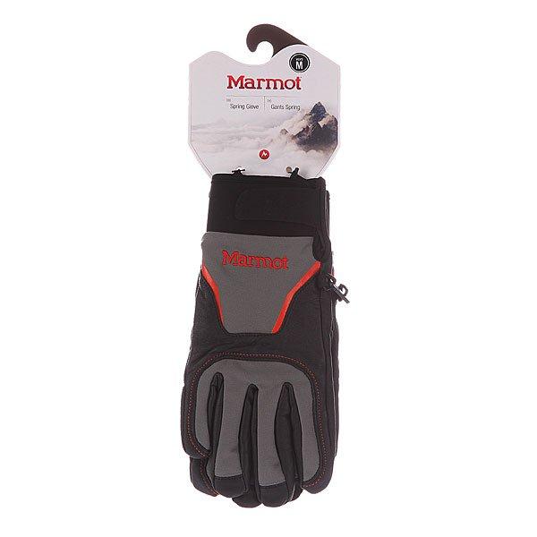 Перчатки сноубордические Marmot Spring Glove Black/Gargoyle