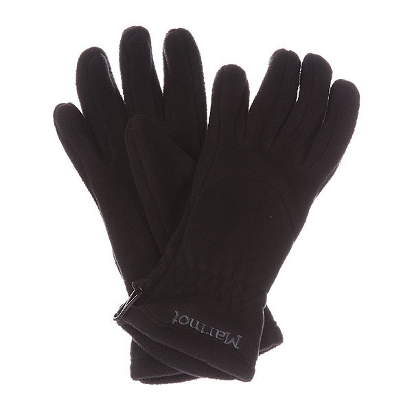 �������� ������� Marmot Wms Fleece Glove True Black