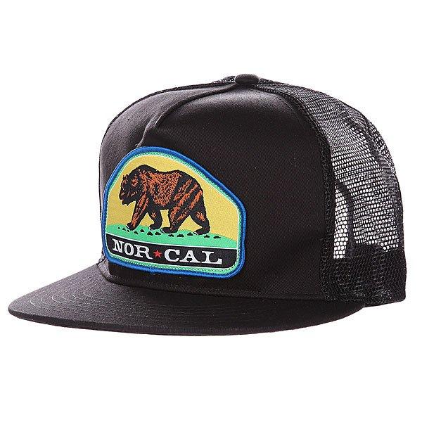 Бейсболка с сеткой Nor Cal Park Ranger Trucker Black<br><br>Цвет: черный<br>Тип: Бейсболка с сеткой<br>Возраст: Взрослый
