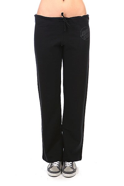 Штаны широкие женские Santa Cruz Opus Dot Straight Leg Black
