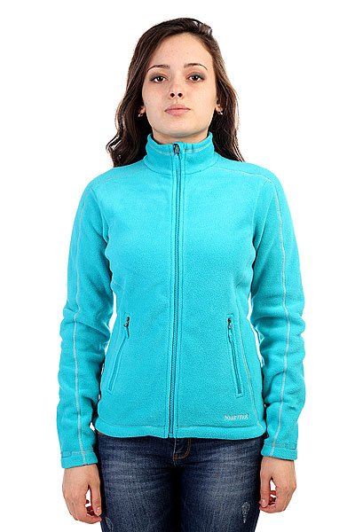 Толстовка женская Marmot Wms Furnace Jacket Sea Glass