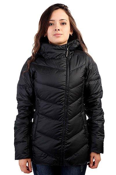 Куртка женская Marmot Wms Carina Jacket BlackТехнические характеристики: Верх из полиэстера с влагонепроницаемой пропиткой DWR.  Внутренняя подкладка из тафты + микрофлис в верхней части торса. Воротник-стойка.  Застежка-ассиметричная молния по всей длине. Утеплитель – пух с технологией Down Defender + рукава – Thermal R.  Съемный капюшон.  Внутренний потайной карман. Прорезные карманы для рук.  Фасон: стандартный (regular fit).<br><br>Цвет: черный<br>Тип: Куртка<br>Возраст: Взрослый<br>Пол: Женский
