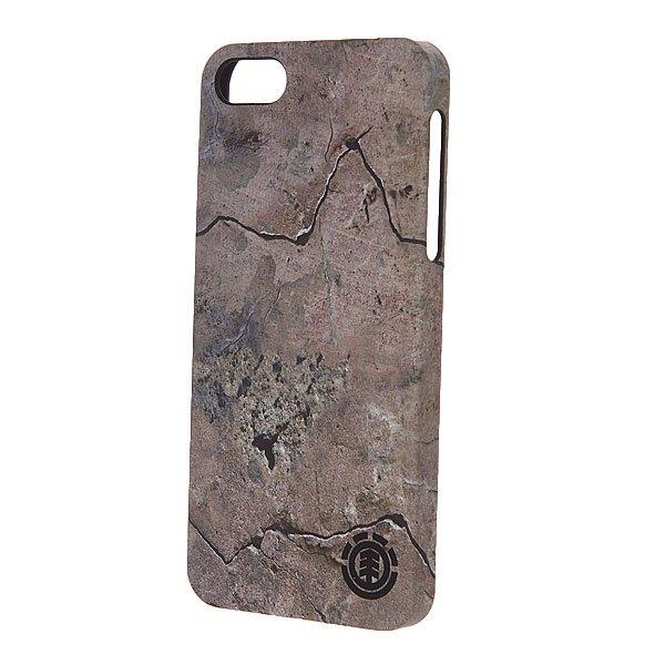 Чехол для iPhone Element Vigor Iphone 5/5S Case RockУдобный чехол для вашего телефона от бренда Element.Характеристики:Для iPhone 5/5S.Изготовлен из пластика.<br><br>Цвет: серый<br>Тип: Чехол для iPhone<br>Возраст: Взрослый