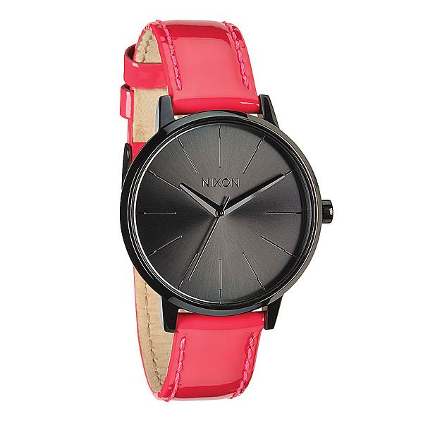 Часы женские Nixon Kensington Leather Bright Pink Patent nixon часы nixon a099 710 коллекция kensington