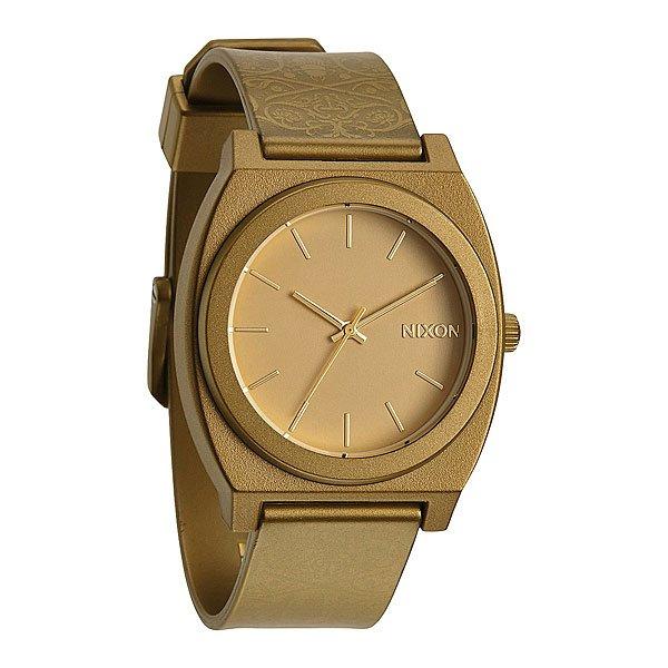 Часы Nixon Time Teller P Metallic Gold/Beetlepoint