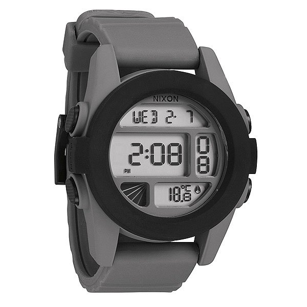 Часы Nixon Unit Gray/Black