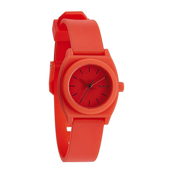 Часы женские Nixon Small Time Teller P Red Pepper