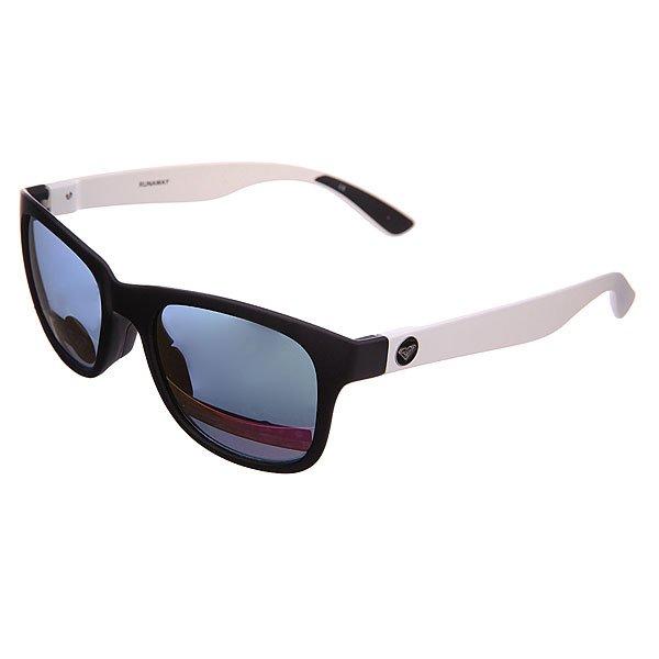 Очки женские Roxy Runaway J Black/LeopardУльтра тонкие очки в сочном цвете.Технические характеристики: Мягкие сменные носовые упоры Megol®.Сменные дужки.Прочные линзы из поликарбоната.Покрытие против царапин.100% защита от ультрафиолетовых лучей.Линзы от Carl Zeiss Vision.<br><br>Цвет: черный,белый,фиолетовый<br>Тип: Очки<br>Возраст: Взрослый<br>Пол: Женский