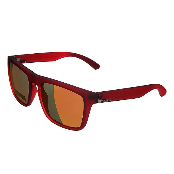 Очки Quiksilver The Ferris Matte True Red/Ml Orange