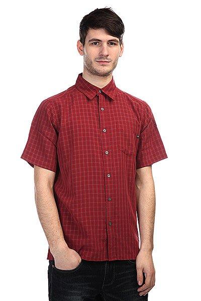 Рубашка в клетку Marmot Eldridge Brick<br><br>Цвет: бордовый<br>Тип: Рубашка в клетку<br>Возраст: Взрослый<br>Пол: Мужской