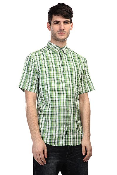 Рубашка в клетку Marmot Baywood Green Lichen<br><br>Цвет: зеленый<br>Тип: Рубашка в клетку<br>Возраст: Взрослый<br>Пол: Мужской